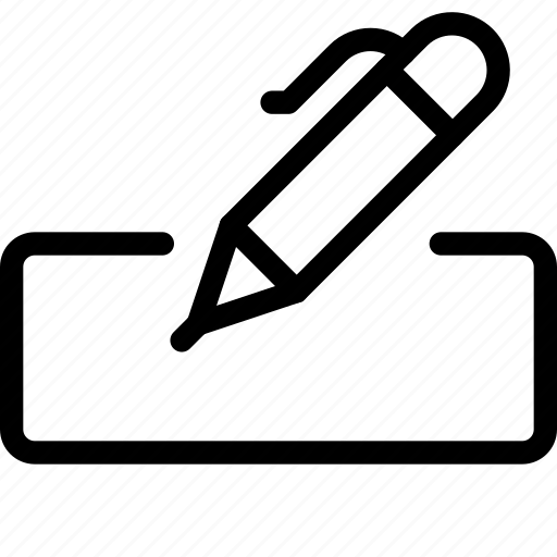 box, edit, edition, form, pen, text, write icon