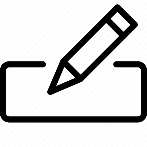 box, edit, edition, form, pencil, text, write icon