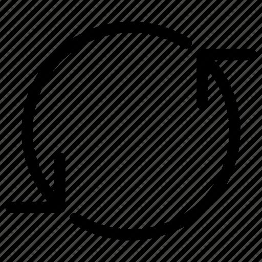 arrows, circle, media, multi, multimedia, refresh, reload icon