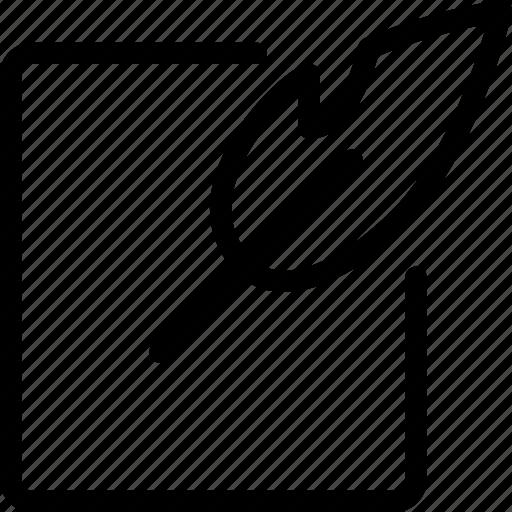 change, document, edit, modify, paper, write, writing icon