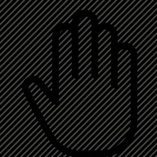 cursor, grab, hand, move, select icon