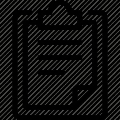 checklist, clipboard, edit, edition, form, task icon
