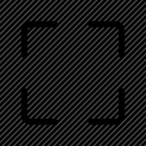 cursor, frame, select icon