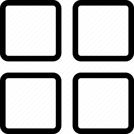 grid, gride, layout, layouts, module icon