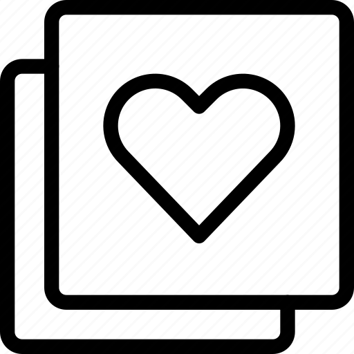 favorite, filter, heart, like, pages, pagination icon