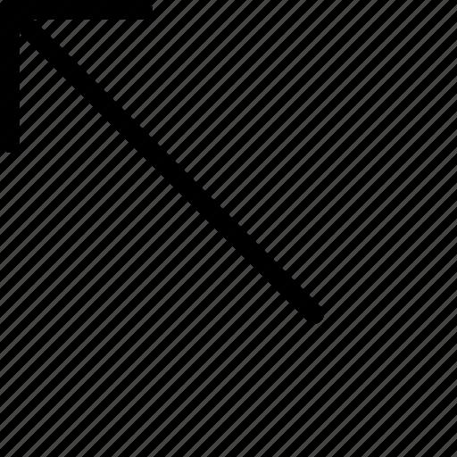 arrow, keyboard, left, top, up icon