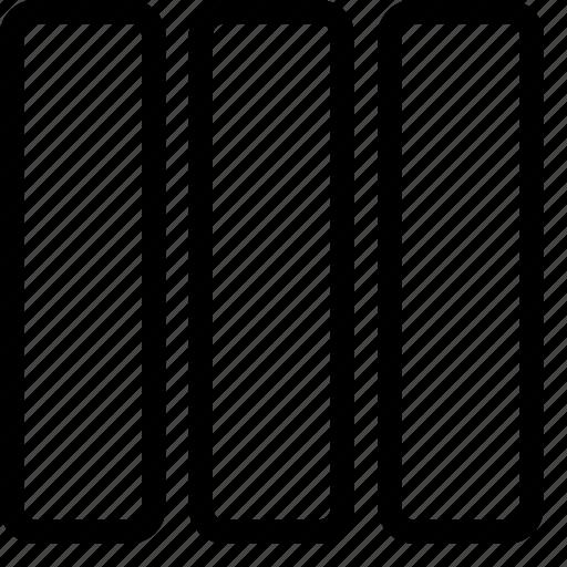 column, layout, layouts icon