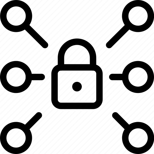 firewall, internet, lock, locked, secure, security, server icon