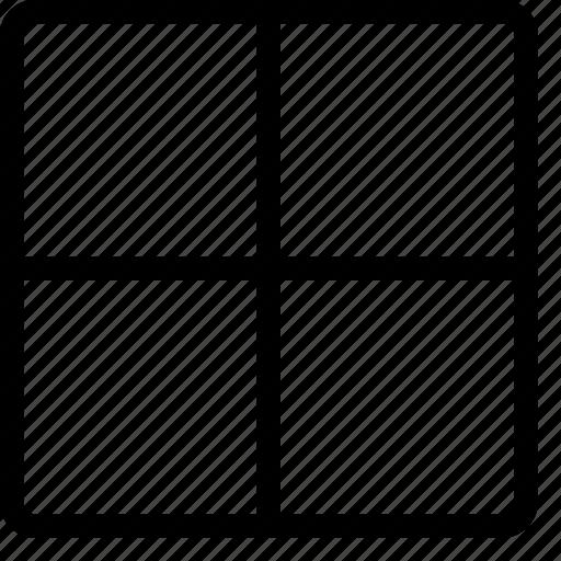 grid, layout, layouts, module icon