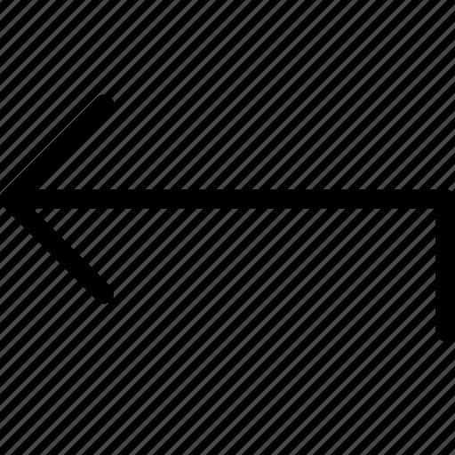 arrow, arrows, back, move icon