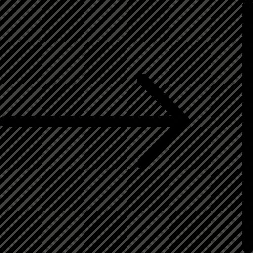 arrow, arrows, move, right icon