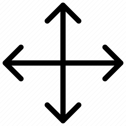 arrows, direction, move icon