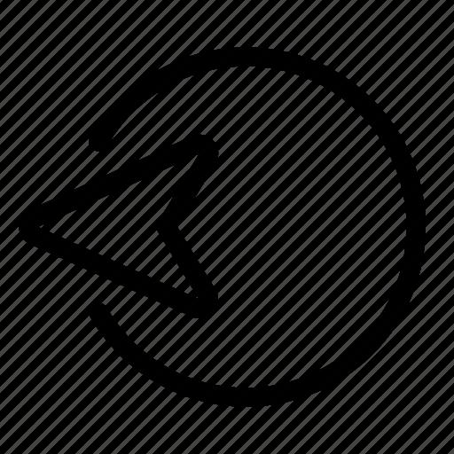 cursor, left, move icon