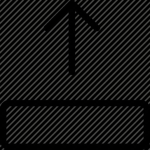 arrow, arrows, move, up icon
