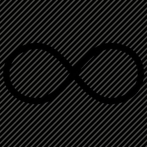 controls, infinity, loop, media, multi, multimedia, repeat icon
