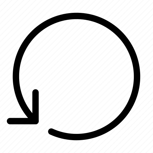 arrow, circle, media, multi, multimedia, refresh, reload icon