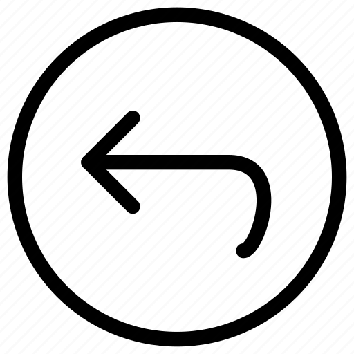 arrow, back, circle, left, navigate, navigation icon