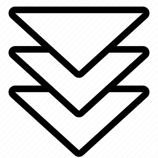 arrow, arrows, down, navigate, navigation icon