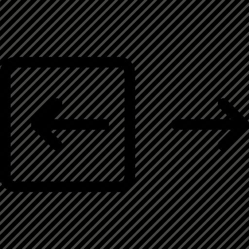 arrow, left, navigate, navigation icon