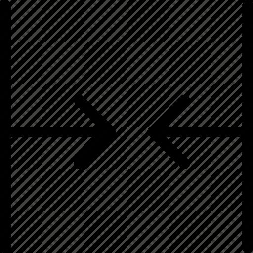 bigger, horizontal, resize, shrink, size, small, smaller icon