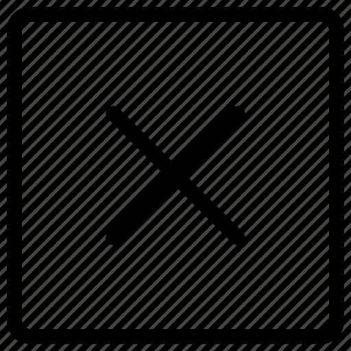 add, buttons, delete, remove, square icon