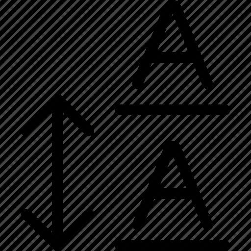 arrange, format, formatting, line, spacing, text icon