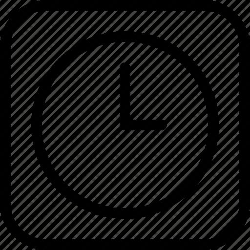 circle, clock, frame, loading, measure, time icon