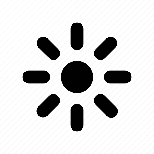 Brightness, adjust, adjustment, lower, down, decrease, controls icon - Download on Iconfinder