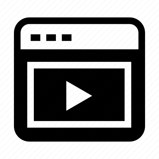 interface, interface media, media, media page, video page icon