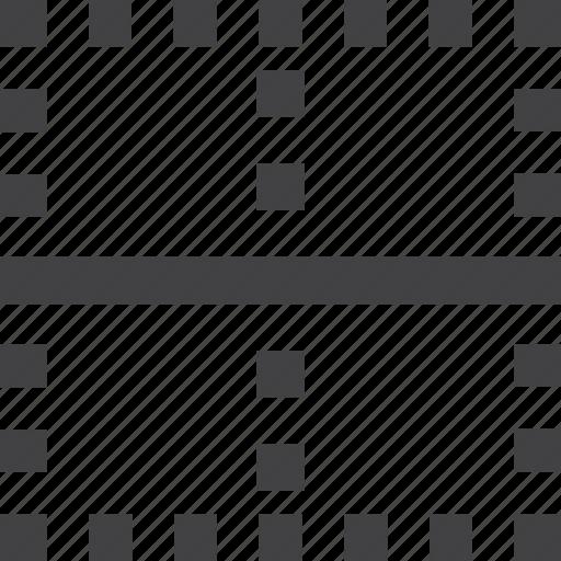 grid, layout, split icon