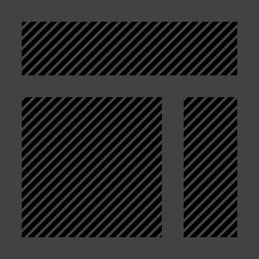 grid, header, layout, next, sidebar icon