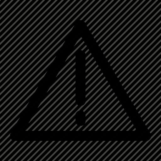 alert, danger, error, sign, warning icon