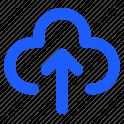 Cloud, file, data, storage, save, document, upload icon - Download on Iconfinder