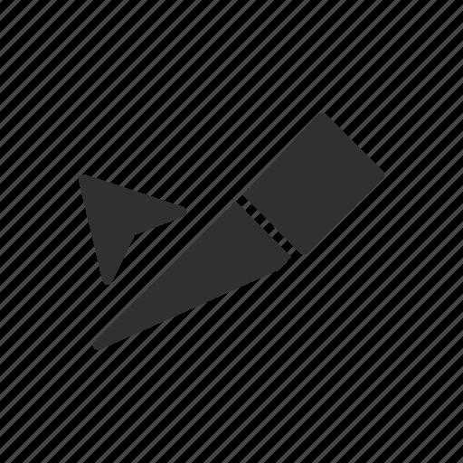 cut, knife, slice, slice select tool icon