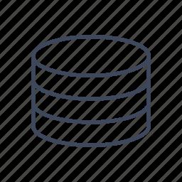 data, database, server, storage icon