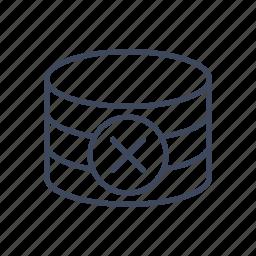 base, database, delete, repository icon