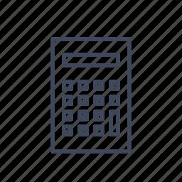 calc, calculate, calculator, finance icon