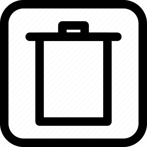 interface, interfaces, trash icon