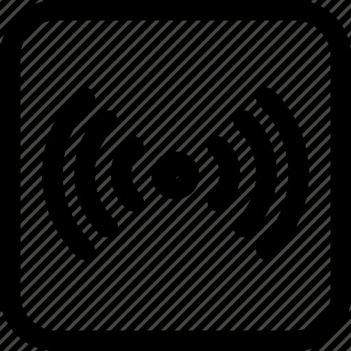 interfaces, signal, thetering, wifi icon