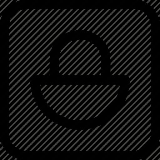 interfaces, key, lock, padlock icon
