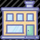 bakehouse, bakery, bakery building, bakery shop, store icon