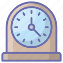 chronometer, clock, hour, table clock, time, timekeeper, timepiece icon