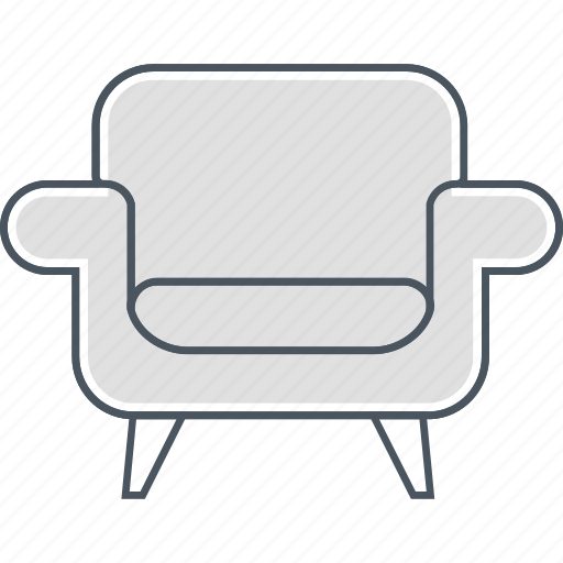 armchair, chair, furniture, interior, seat, sofa icon