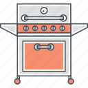 barbecue, barbeque, bbq, cooking, grill, outdoor icon