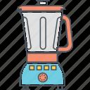 appliance, blend, blender, mixer, stir icon