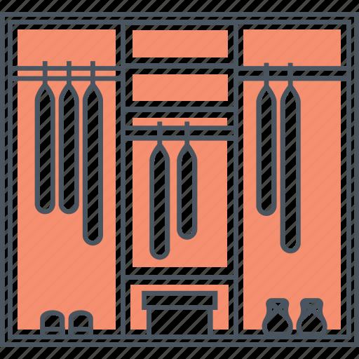 cabinet, closet, clothes, wardrobe icon