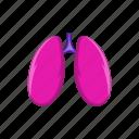 anatomy, cartoon, human, lungs, medical, organ, sign