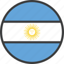 argentina, argentinian, country, flag