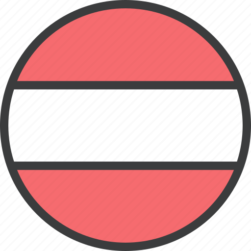 austria, austrian, country, european, flag icon