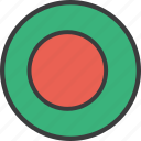 asian, bangla, bangladesh, country, flag icon